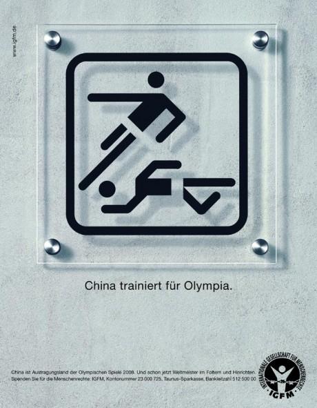 Grafous :: Diseño Gráfico Social, Sostenible y activista :: Derechos Humanos :: Juegos olímpicos China