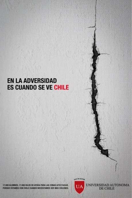 Grafous :: Diseño gráfico social, sostenible y activista :: Terremoro en Chile