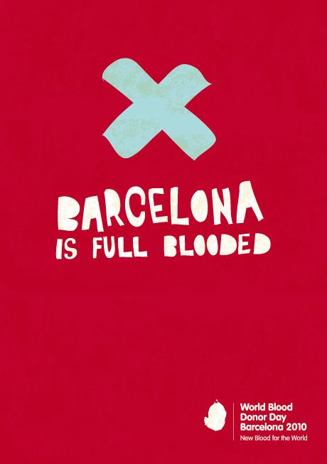 Grafous :: Diseño gráfico Social, Sostenible y Activista :: Barcelona tiene sangre :: Los diseñadores gráficos tenemos sangres