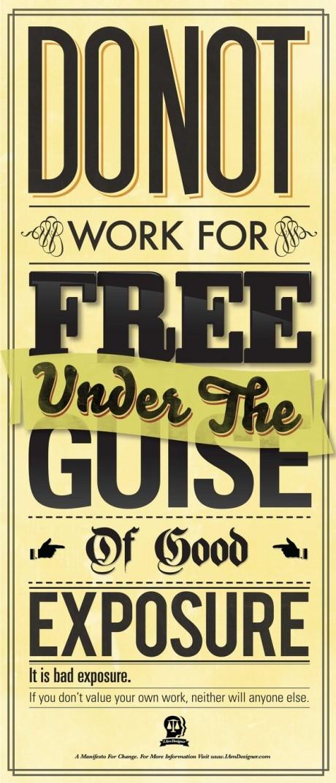 Grafous :: Diseño gráfico social :: no trabajes gratis :: Ben Crick