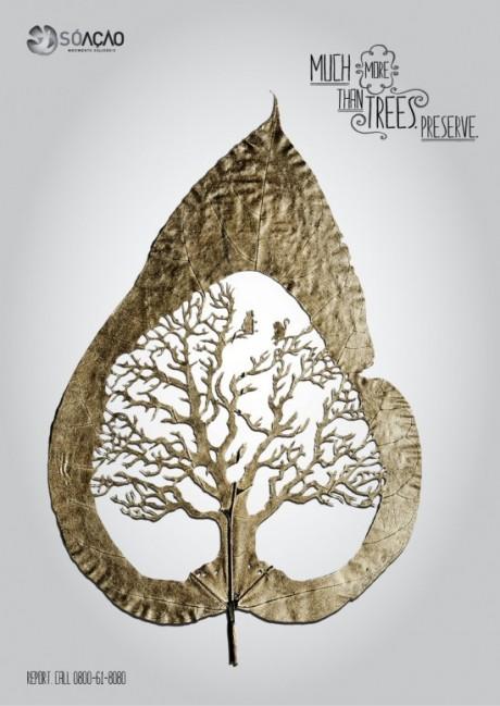 Grafous :: Diseño Gráfico Sostenible :: Contra la deforestación :: Lorenzo Durán
