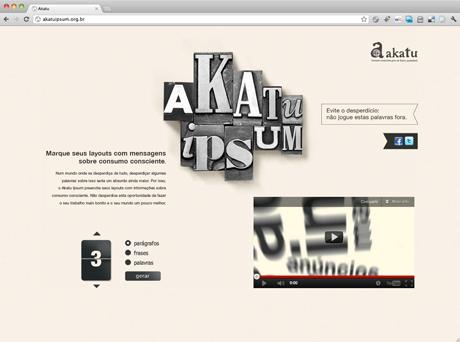 Grafous :: Diseño Gráfico Social :: Akatuipson grafous :. A favor del consumo consciente