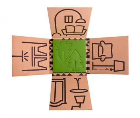 Dise o sostenible tarjeta de navidad dise o sustentable for Diseno sustentable
